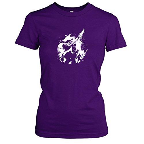 TEXLAB - Fantastic Splash - Damen T-Shirt, Größe XL, (Fantastischen Kostüme Vier Comic)