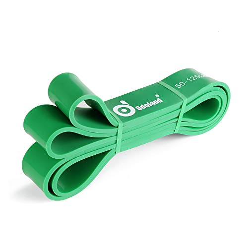 Odoland Premium Fitnessbänder Resistance Band in 5 Verschiedene Zugstärken - Klimmzughilfe Klimmzugband/Widerstandsbänder/Loop Bands Stretching Bänder