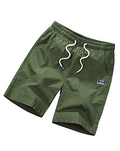 EORISH -  Pantaloncini  - Uomo Army Green