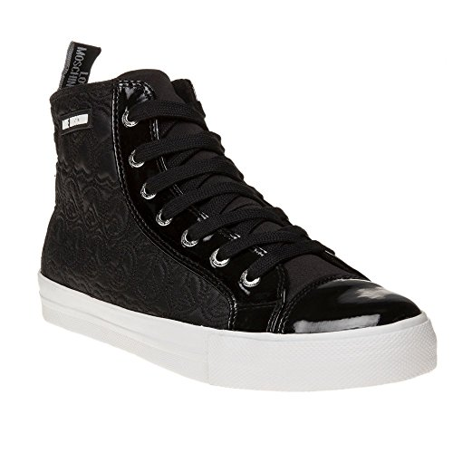 Love Moschino Hi Top Donna Sneaker Nero