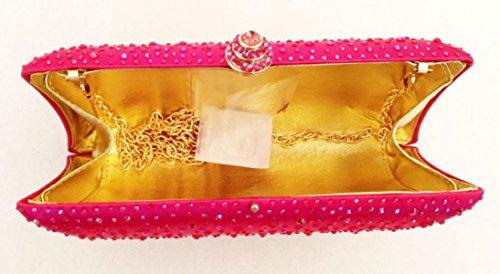 FZHLY Europe Et Le Sac à La Main En Forme D'oreiller États-unis Style Ladies Forfait Soirée Diamant PictureColor1
