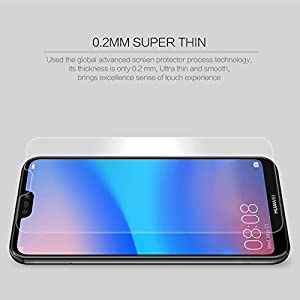 JUMP START™ Premium Series Screen Protector Tempered Glass Film (Not Glass) for HUAWEI P20 LITE (2018 New Launch) - Scratch Proof, Shatterproof Screen Guard, Explosion Proof Protective Anti Glare Safety Display Film, Anti Fingerprint Screenprotector Shield - Support Flawlessly Huawei P20 Lite