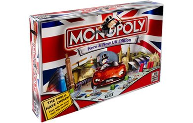 Monopoly Here and Now UK Edition by Hasbro