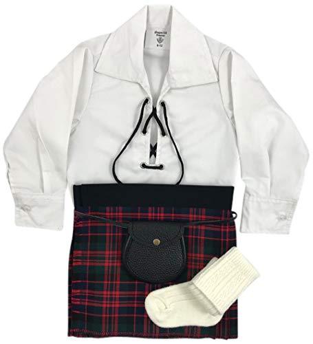 Heritage of Scotland Baby Jungen (0-24 Monate) Bekleidungsset, rot -