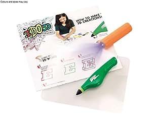 IDO3D Single Pen Starter Set - Green (expédiés à partir du Royaume-Uni)