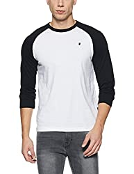 French Connection Mens Slim Fit T-Shirt (56IVP_White/Black_M)