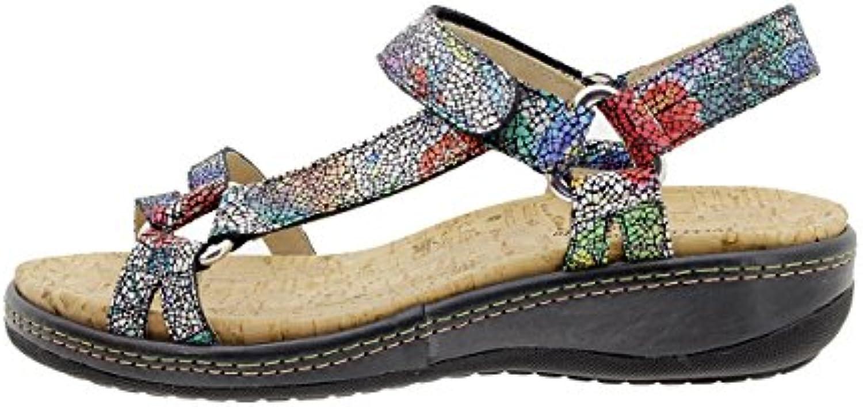 PieSanto Amovible Sandales à Semelle Amovible PieSanto 180913 Chaussure Femme Confort 488799