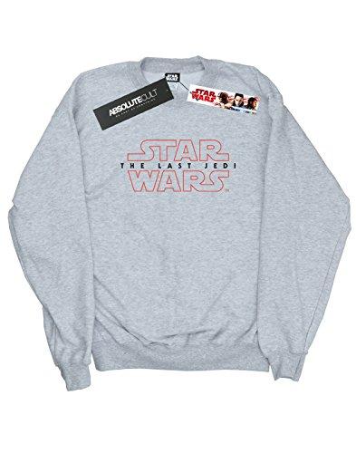 Star Wars Damen The Last Jedi Logo Sweatshirt Heather Grey