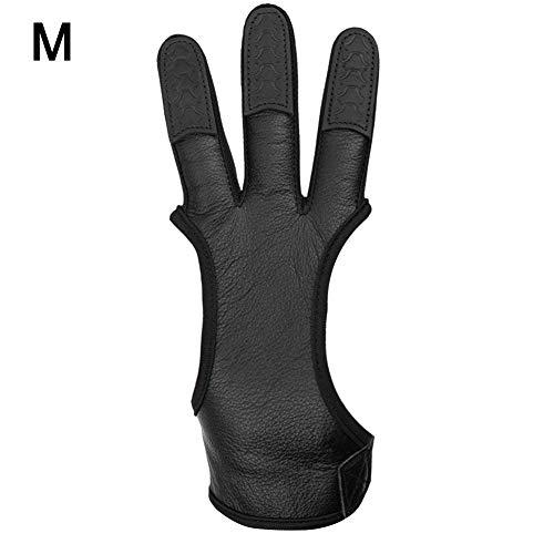 1 STÜCK Bogenschießen 3 Finger / 2 Fingerschutz Schießen Handschuhe Pfeil Bogen Jagd Schießen Recurve Bogen -