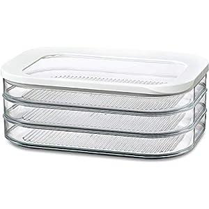 Rosti Mepal Kühlschrankdose Modula Aufschnitt 550/3 Weiß