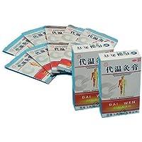 """80 Moxa Pflaster """"Dai Wen"""" (10 x 8 Stck. 4x4 cm) Moxapflaster Therapie - beste Qualität preisvergleich bei billige-tabletten.eu"""