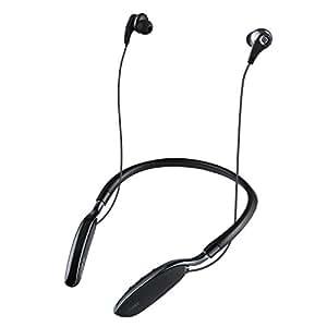 AUKEY Bluetooth Kopfhörer Nackenband, mit 20 Stunden Wiedergabezeit und eingebautem Mikrofon für iPhone, Samsung, Apple Watch, Amazon Echo Dot und weitere Geräte