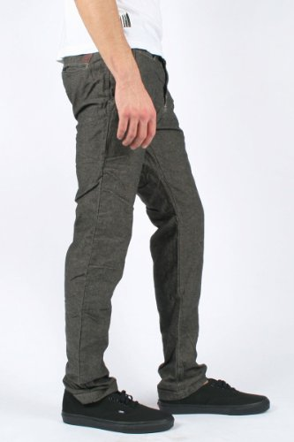 Scotch & Soda - - Hommes Pantalon chino en Speckled Noir Black Speckled