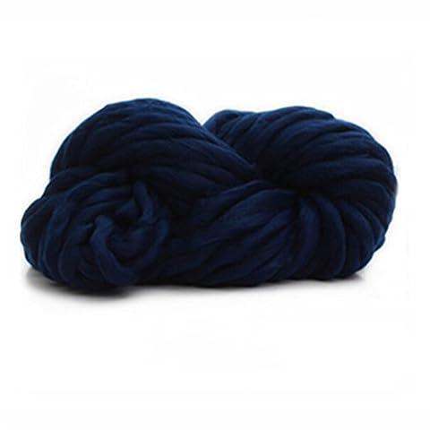 Albeey Super-Chunky Garn weicher Wolle Sperrige Yarn Spinning Hand Knitting dickes Acrylgarn, Strickwolle für Strick- / Häkelarbeiten wie Pullover / Schals / Decken (8#)