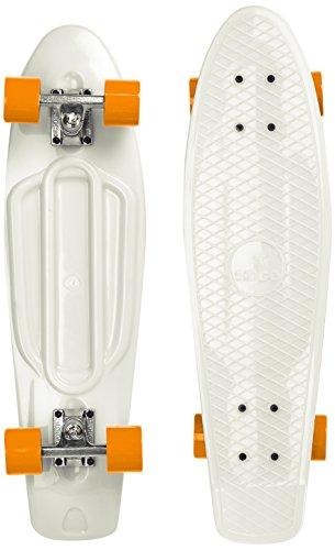 Ridge Skateboard Big Brother Nickel 69 cm Mini Cruiser, Glow/orange