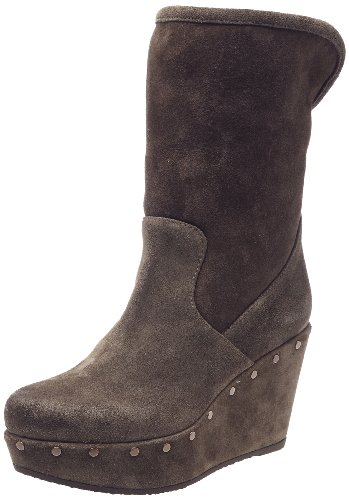 Fruit Cloga, Boots femme Taupe