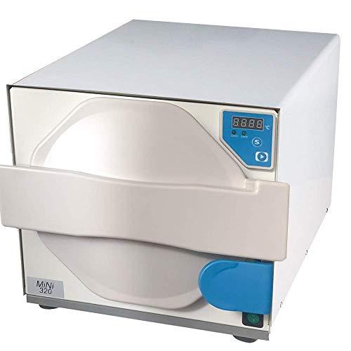 BONEW 18L Digital Display Dampf Autoklaven-Sterilisator tragbar Edelstahl MINI320 110 V, blau, 18320
