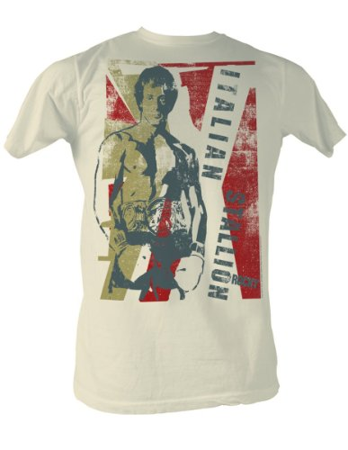 Rocky - Der italienische Hengst T-Shirt In Dirty White, XX-Large, Dirty White