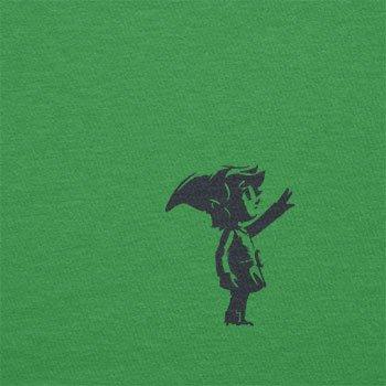 Texlab–Banksy Link–sacchetto di stoffa Verde