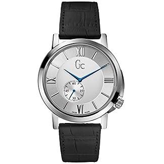 Guess Reloj Análogo clásico para Hombre de Cuarzo con Correa en Acero Inoxidable X59005G1S