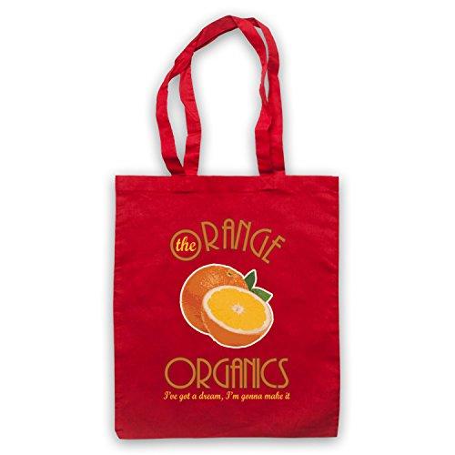 Inspiriert durch Pugwall The Orange Organics Inoffiziell Umhangetaschen Rot
