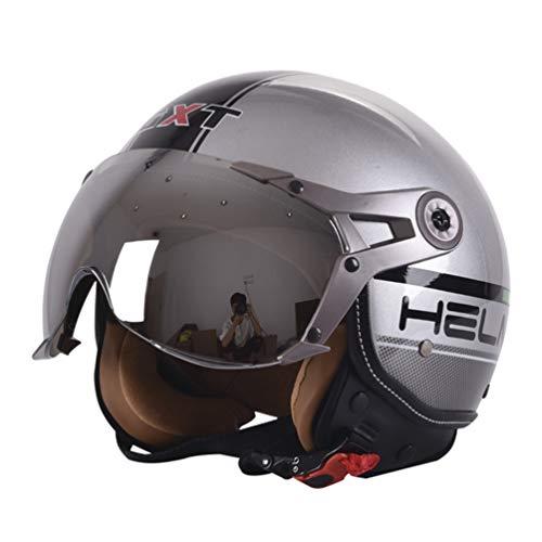 Qianliuk Motobike Motorrad-Sicherheit Helm Air Force Retro