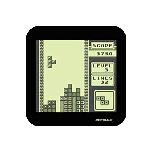 80s Tetris Game Screen Coaster x 1