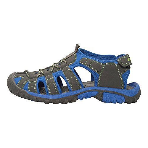 Mountain Warehouse Bay Kids Shandals Blue 1 Child UK