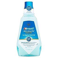 Crest Pro-Health For Life CPC Antigingivitis/Antiplaque Smooth Mint Rinse, 33.8 fl oz