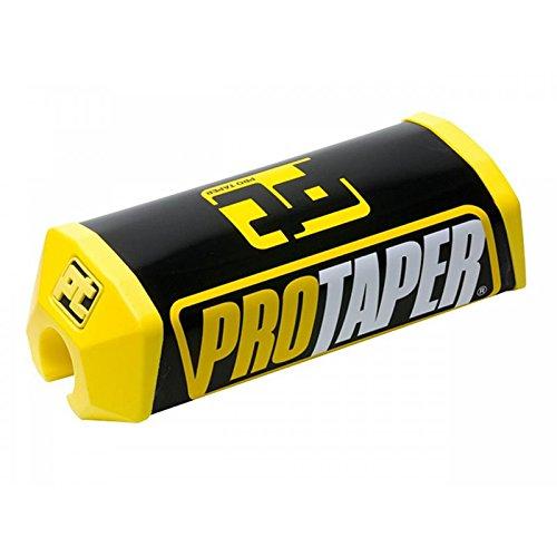 Pro Taper -Protector de espuma amarillo/negro para manillar sin barra, 28mm