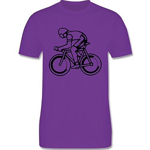 Radsport - Radsport - Herren Premium T-Shirt Lila