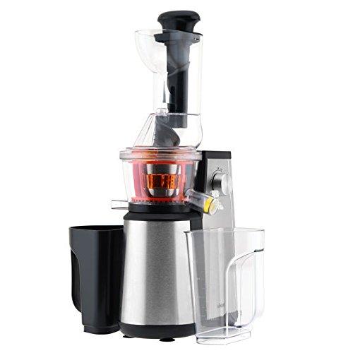 HKoenig GSX18 Extracteur de Jus Vertical Noir/Inox  - 60 tours/ minute