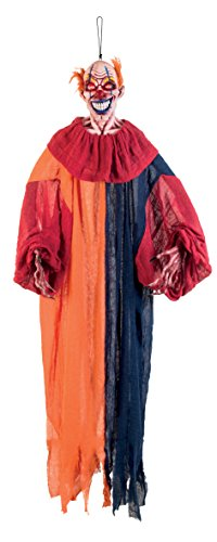 ion Clown, 165 cm (Gruselige Psycho Clown Kostüm)