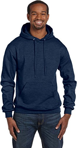 Champion Men's Double Dry Eco Pullover Hood Erica / Blu navy