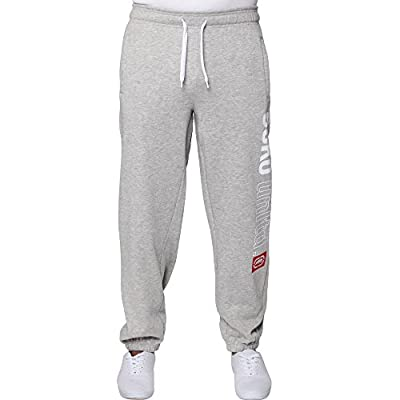 Ecko Mens Boys Hip Hop Star Jogging Jogger Jog Bottoms Pants Time Money Is (M, Grey)