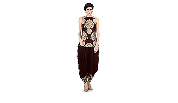 d8b9a5919b Ravechi Fab Women's Dhoti Pant and Jacket (RKZA-11, Maroon, Free Size):  Amazon.in: Clothing & Accessories
