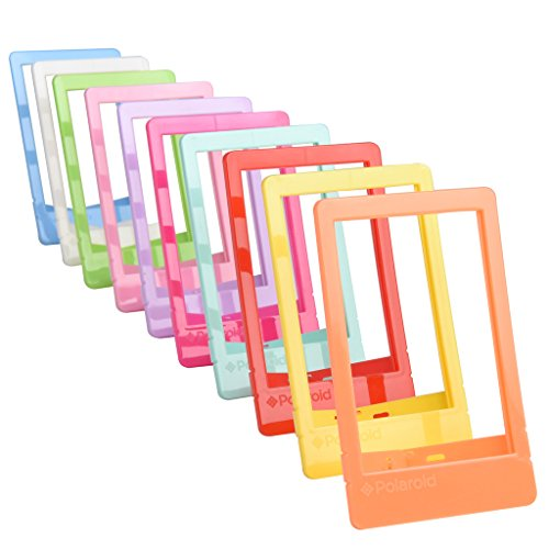 polaroid-10-colorful-2x3-mini-photo-picture-frames-for-2x3-photo-paper-snap-zip-z2300