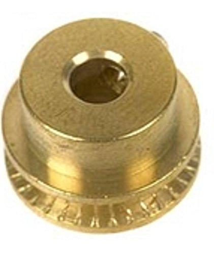 01628 - Wilesco ET - Schnurlaufrolle, messing blank, D=14 mm