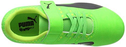 Puma Evopower Vigor 4 Ag V Ps, Scarpe da Calcio Unisex – Bambini Verde (Green Gecko-puma Black-safety Yellow 01)