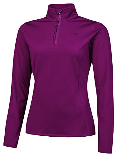 Protest - Protest Fabrizoy 1/4 Zip Top Purple Haze