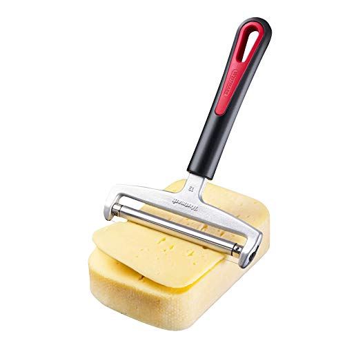 Westmark Käseschneider mit Rolle und auswechselbarem Schneiddraht, Variable...