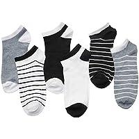 XMDNYE 6 Paar Männer Knöchelsocken Männer Business Casual Short Socken Männlichen Socke Hausschuhe Flacher Mund Socken
