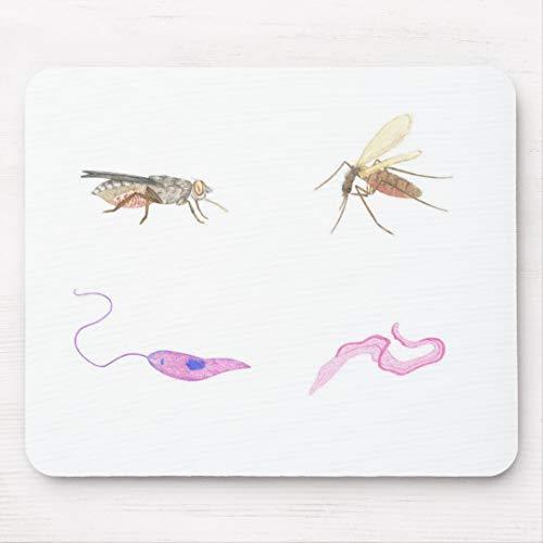 JAMILA Fußmatte Parasitologie/Parasitology mat Fußmatte Parasitologie/Parasitology Mat Mousepad