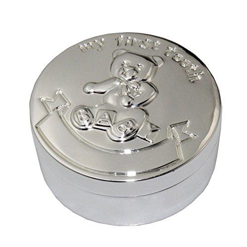 Tooth Box, FGF dente Trinket circolare Box con Winnie the Pooh Modello n RKS-TB004