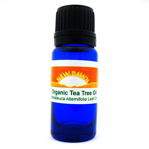 New Dawn 100% zertifizierter Bio & Pure Tee Baum Aromatherapie Öl–10ml/LSF15Größen