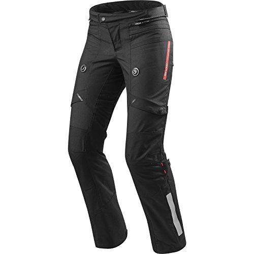 *REVIT HORIZON 2 Damen Motorrad Textilhose Touring std/kurz/lang – schwarz Größe L42*
