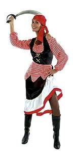 César D279-005 - Disfraz de pirata para mujer, talla 40
