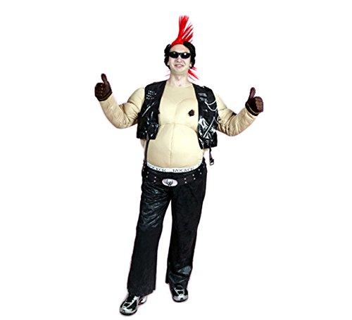 Imagen de disfraz motero rock  talla m