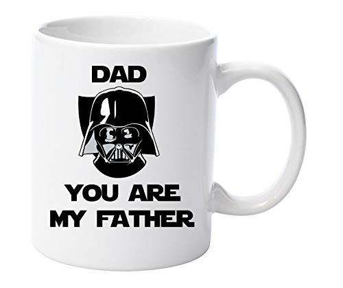 Dad you are my father ml Darth Vader Funny ml taza de cerámica Fathers Day de Navidad
