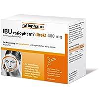 IBU-ratiopharm direkt 400 mg Pulver, 20 St. Beutel preisvergleich bei billige-tabletten.eu